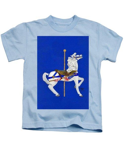 Carousel Horse #1 Kids T-Shirt