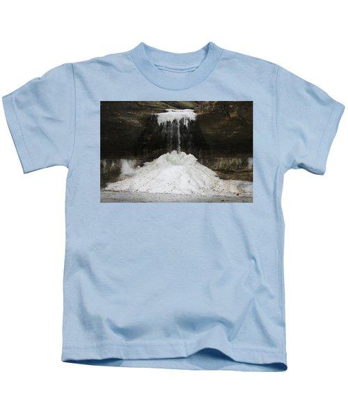 Cascade Falls In Matthiessen State Park Kids T-Shirt