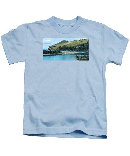 Cascade Head Panorama Kids T-Shirt