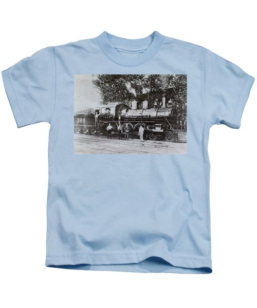 Casey Jones Engine  Kids T-Shirt