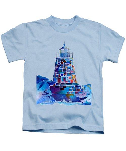 Castle Hill Newport Lighthouse Kids T-Shirt