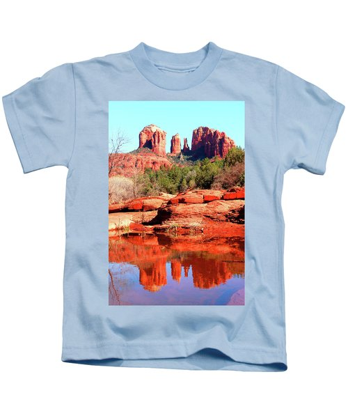 Cathedral Reflections 2 Kids T-Shirt
