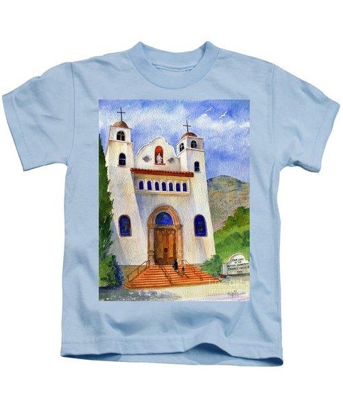 Catholic Church Miami Arizona Kids T-Shirt