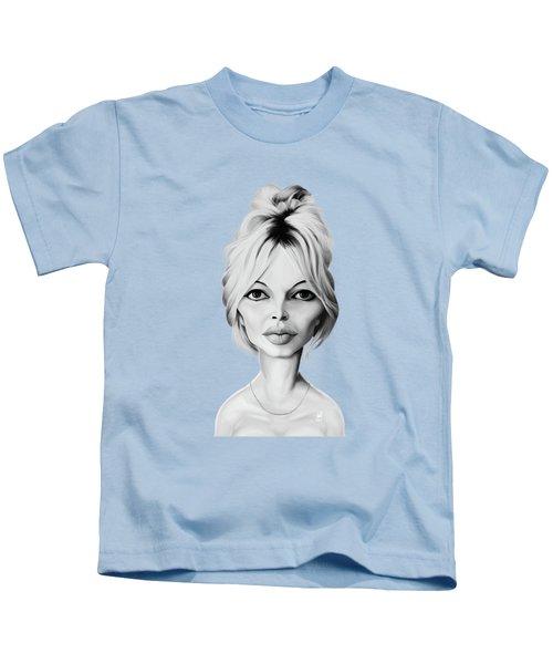 Celebrity Sunday - Brigitte Bardot Kids T-Shirt