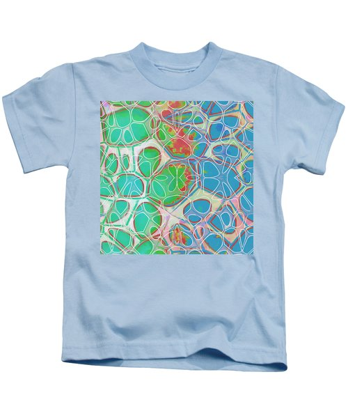 Cell Abstract 10 Kids T-Shirt