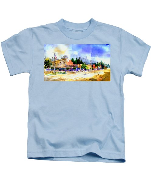 Central Square Auburn Kids T-Shirt