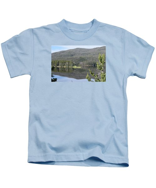 Chambers Lake Hwy 14 Co Kids T-Shirt
