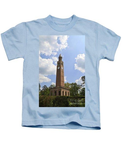 Chapel Hill Bell Tower Kids T-Shirt