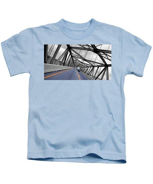 Chesapeake Bay Bridge Kids T-Shirt