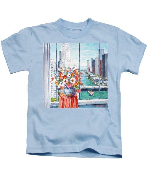 Chicago River Kids T-Shirt