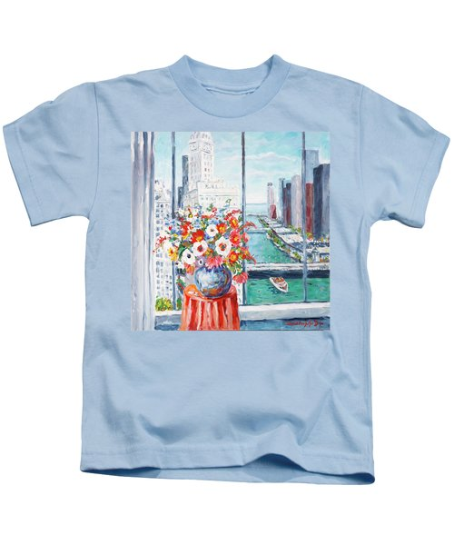 Chicago River Kids T-Shirt