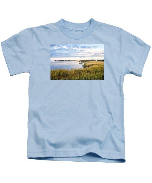 Chisolm Island Shoreline  Kids T-Shirt