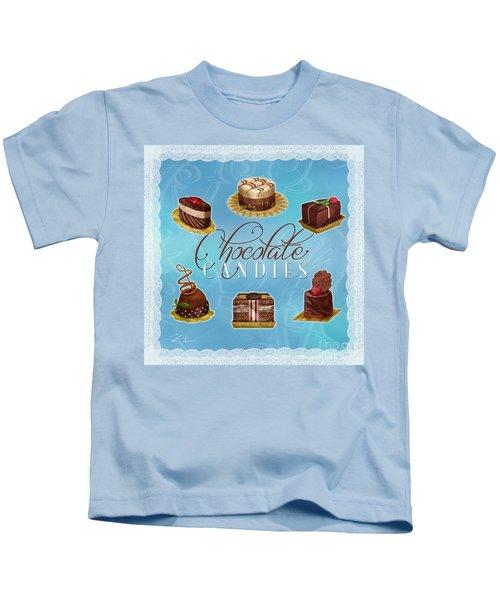 Chocolate Candies Kids T-Shirt