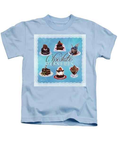 Chocolate Desserts Kids T-Shirt