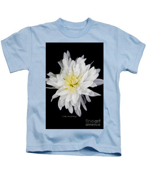 Chrysanthemum Bloom Kids T-Shirt