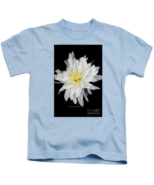 Chrysanthemum Bloom Kids T-Shirt