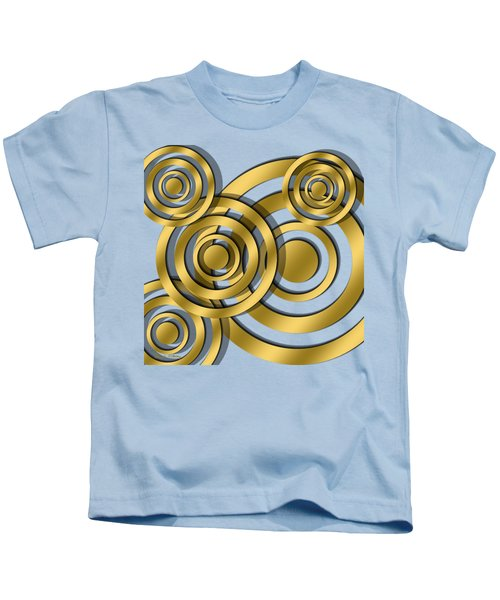 Circles - Transparent Kids T-Shirt