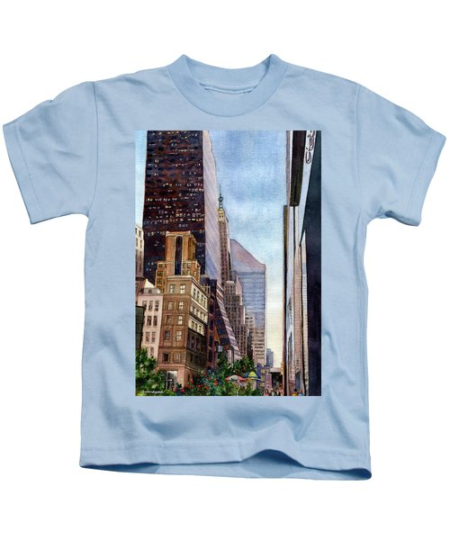 City Sunrise Kids T-Shirt