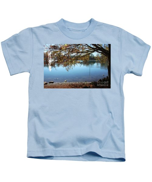Clear Lake Ella With Fountain Kids T-Shirt
