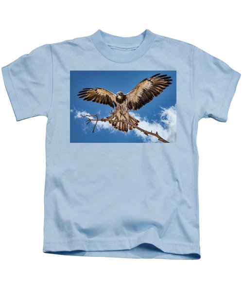 Cleared For Landing Kids T-Shirt