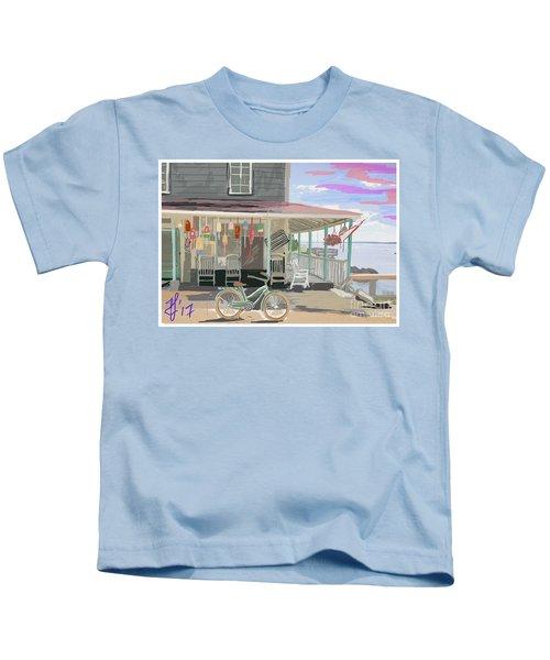Cliff Island Store 2017 Kids T-Shirt