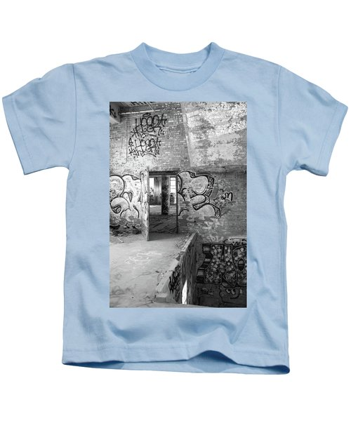 Clothcraft In Black And White Kids T-Shirt