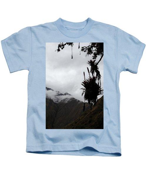 Cloud Forest Musings Kids T-Shirt