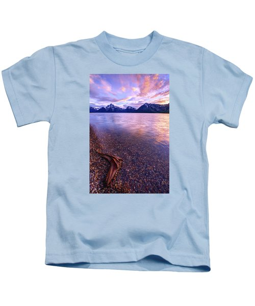 Clouds And Wind Kids T-Shirt by Chad Dutson