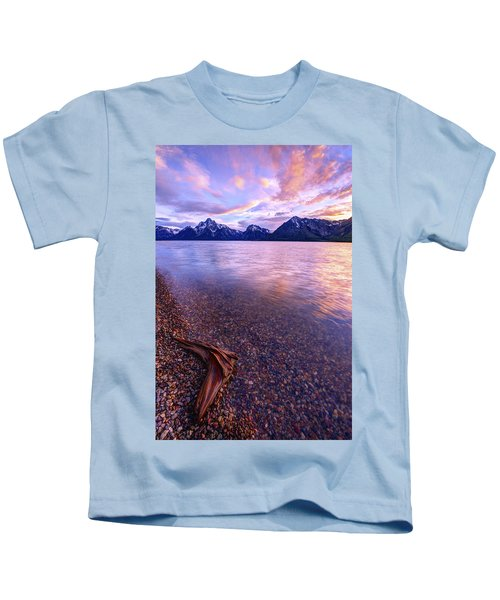 Clouds And Wind Kids T-Shirt