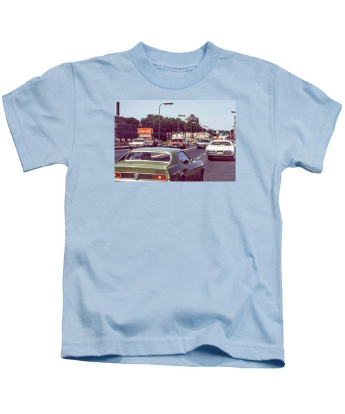 Coca Cola Plant On Central Ave Kids T-Shirt