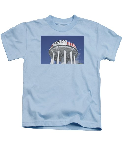 Cocoa Florida Water Tower Kids T-Shirt