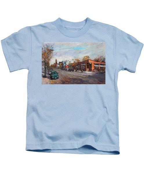 Coffee Break At Spot Kids T-Shirt