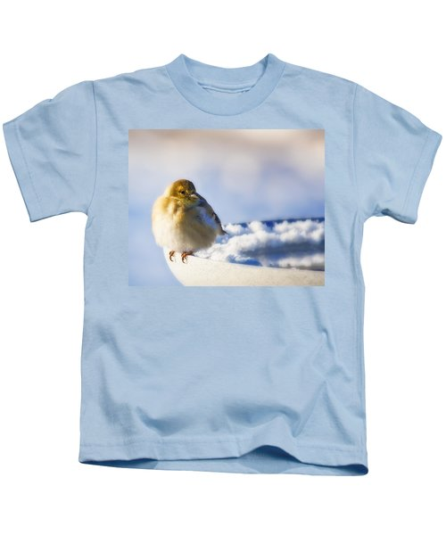 Cold American Goldfinch Kids T-Shirt