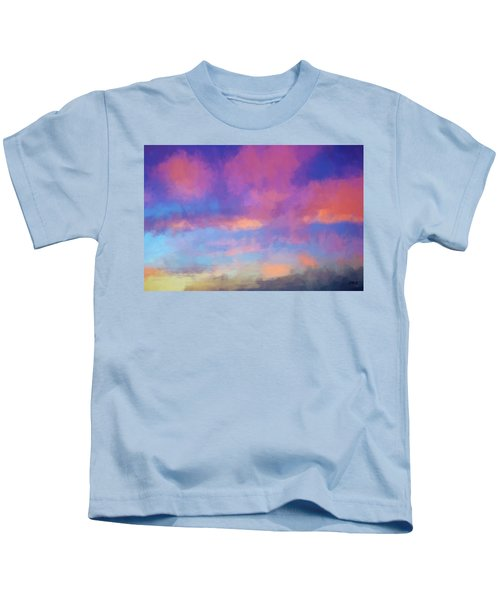 Color Abstraction Xlviii - Sunset Kids T-Shirt