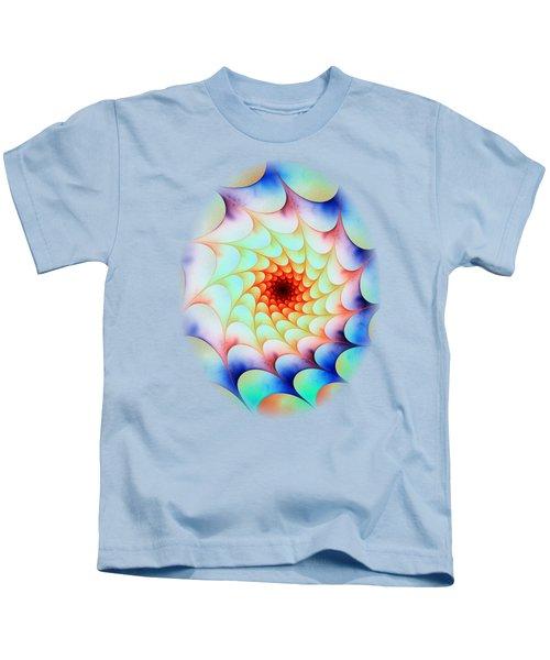Colorful Web Kids T-Shirt