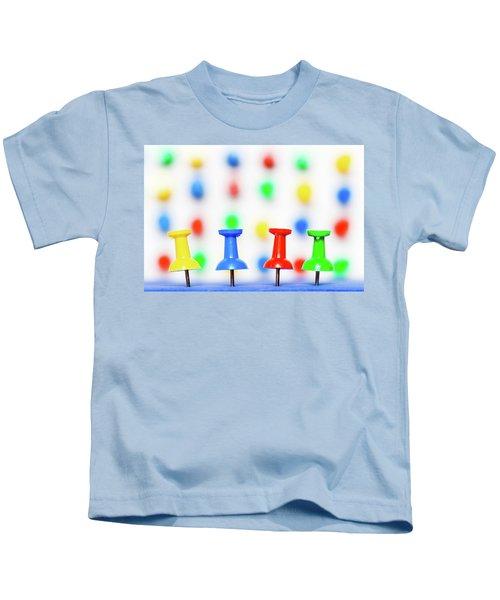Colourful Pins. Kids T-Shirt