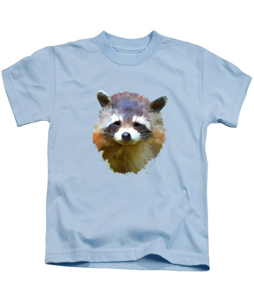 Colourful Raccoon Kids T-Shirt