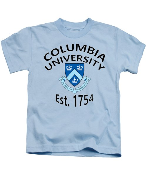 Columbia University Est 1754 Kids T-Shirt