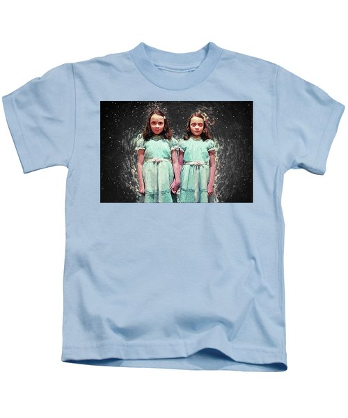 Come Play With Us - The Shining Twins Kids T-Shirt