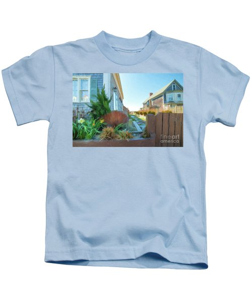 Commercial St. #4 Kids T-Shirt
