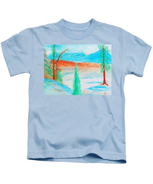 Cool Landscape Kids T-Shirt