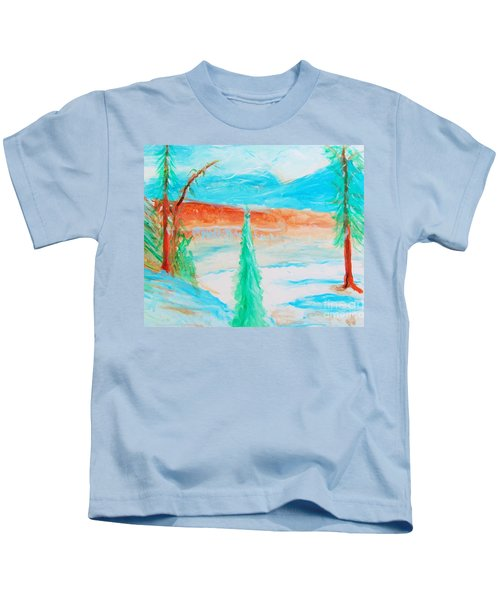 Cool Landscape Kids T-Shirt