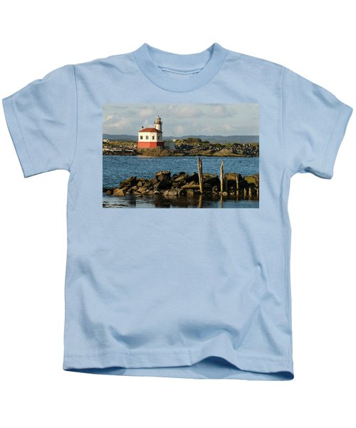 Coquille River Lighthouse Bandon Oregon Kids T-Shirt