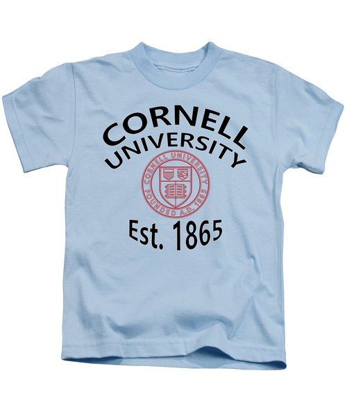 Cornell University Est 1865 Kids T-Shirt
