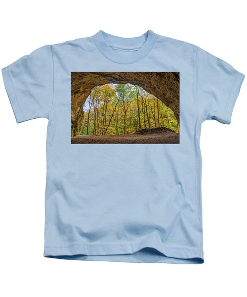 Council Overhang, Starved Rock State Park, Il Kids T-Shirt