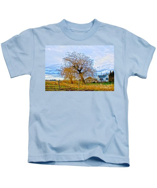 Country Life Artististic Rendering Kids T-Shirt