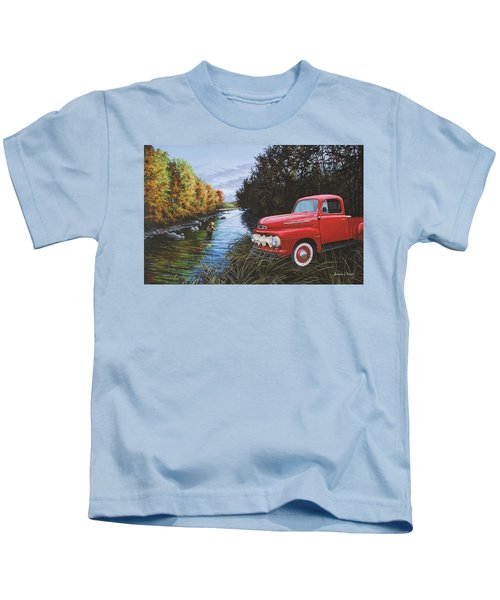 Couple Of Old Timers Kids T-Shirt