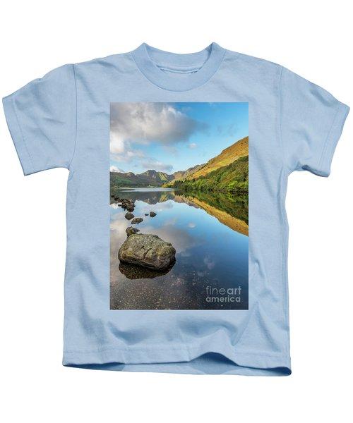 Crafnant Lake Snowdonia Kids T-Shirt
