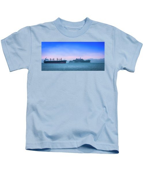 Crossing Alcatraz Kids T-Shirt