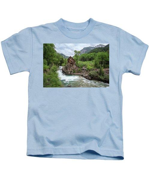 Crystal Mill Colorado 4 Kids T-Shirt